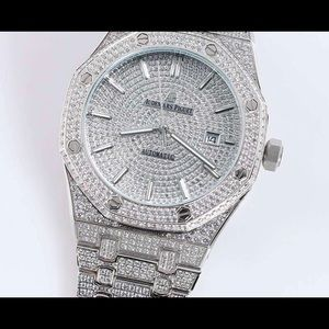 AUDEMAR PIGUET - WHITE GOLD ROYAL OAK